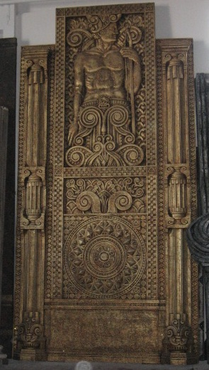 scultura idolo nabucco